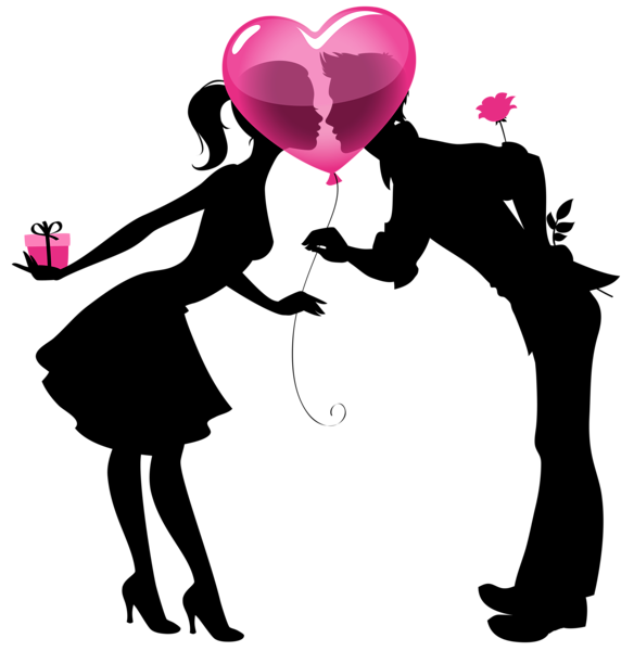 Valentine_Couple_Silhouettes_with_Heart_Balloon_PNG_Clipart_ Picture (584x600, 57Kb)