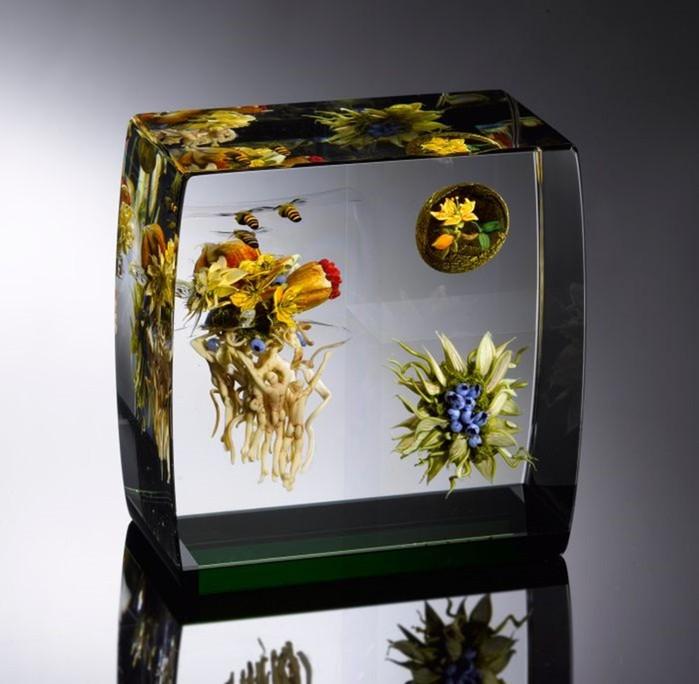Пол Штанкард и его красивые стеклянные работы