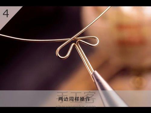 Бабочка из проволоки для подвески своими руками (5) (500x375, 78Kb)