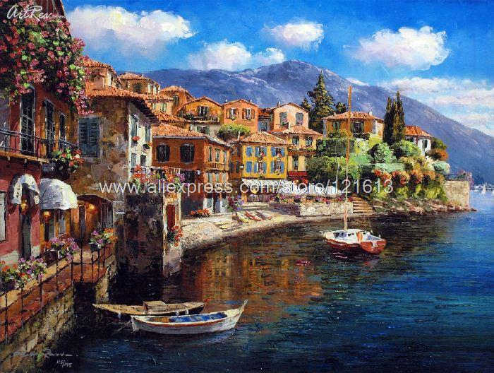 Sung-Sam-Park-Harbor-At-Varenna-Hand-Embellished-Gic-On-Canvas-Hand-Painted-Cheap-Artwork-For (700x528, 459Kb)