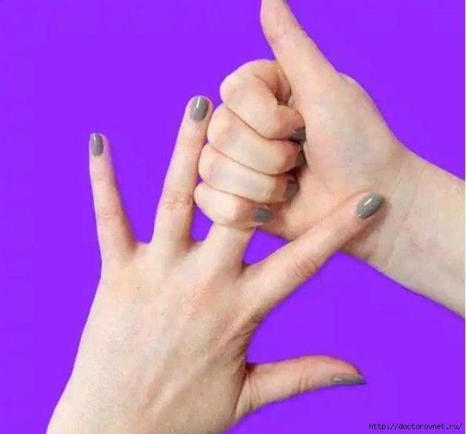 Среднему пальцу для удовольствия необходимы 20 секунд