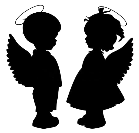 depositphotos_17431761-stock-illustration-angel-silhouettes-set (450x431, 39Kb)
