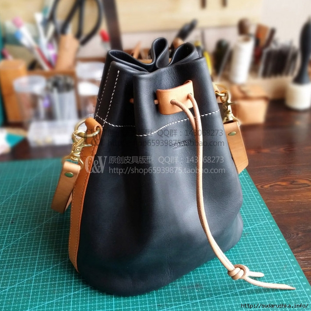DIY-handmade-leather-casual-bucket-bag-drawing-black-DIY-shoulder-bag-pattern-drawing-B-019-DIY.jpg_640x640 (640x640, 269Kb)