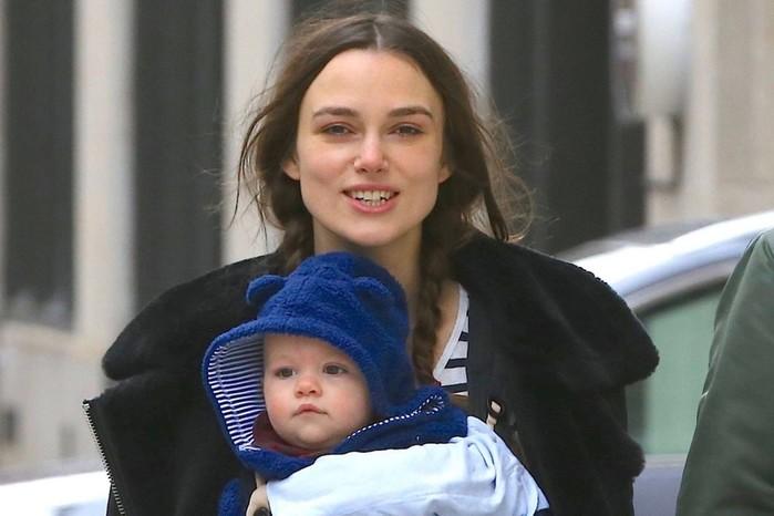 Трудности материнства: Кира Найтли и Лена Миро