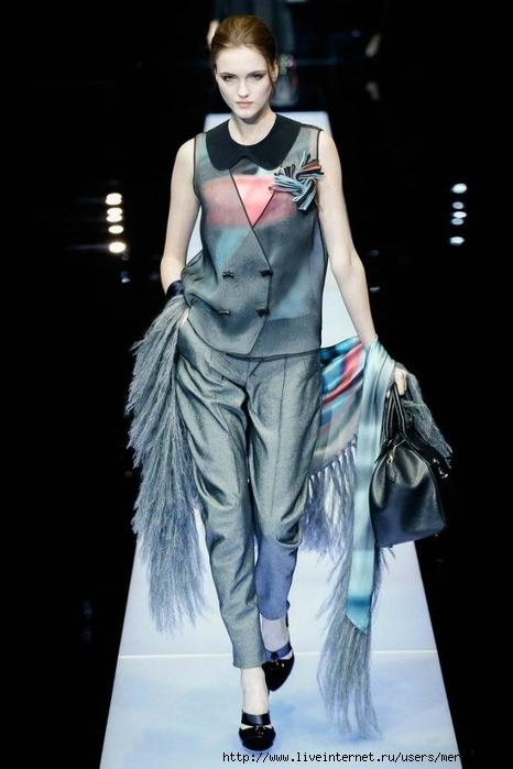 Модные образы Giorgio Armani