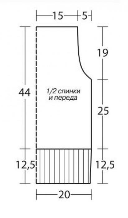 3937411_bezrukavkavpoloskuoborkamischemevyazaniespicamidlyazhenshchinzhiletydlyazhenshchin (412x700, 74Kb)