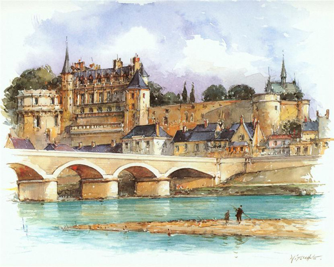 Europe_Cities_Watercolor_Detlev_Nitschke_4 (670x536, 324Kb)