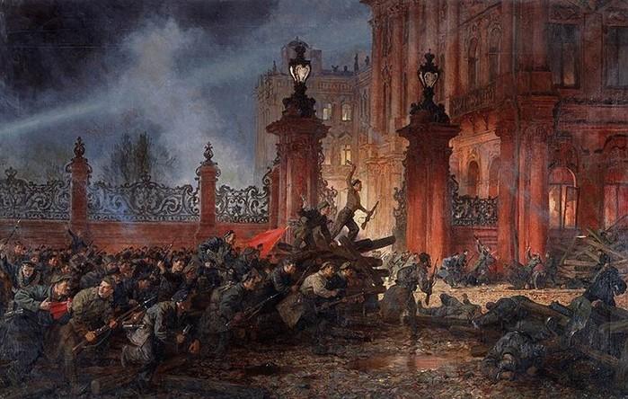Зачем толпа штурмовала подвалы Зимнего дворца после ареста Временного правительства?