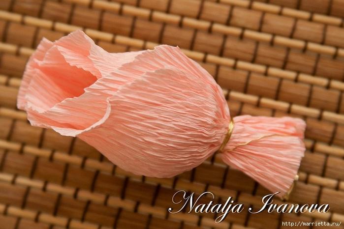 Букет из конфет. Розы (10) (700x466, 234Kb)
