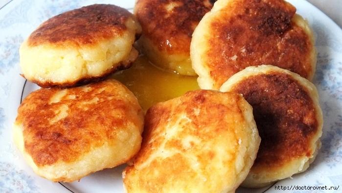 Быстрый и очень вкусный рецепт нежных сырников