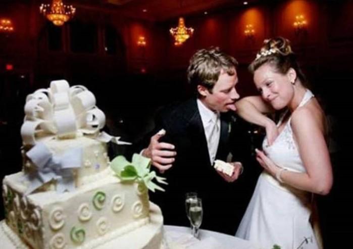Свадебные фото, за которые становится неловко