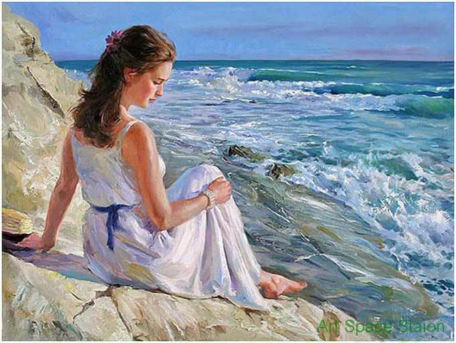 Abstract-woman-painting-modern-wall-art-Vladimir-Volegov-AT-THE-ROCKY-SEASIDE-handmade-oil-painting-picture.jpg_640x640 (640x481, 339Kb)