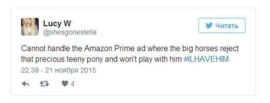 Видео: реклама Amazon с трогательной лошадкой