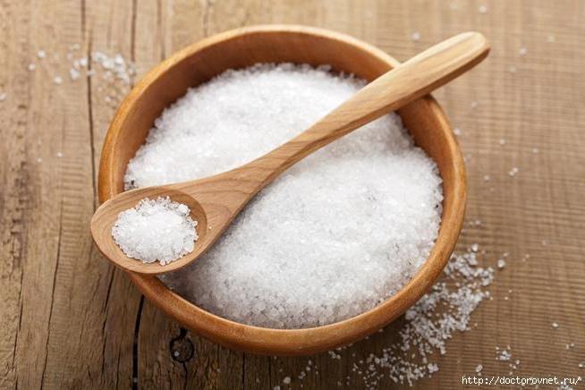 Соль для красоты волос и здоровья