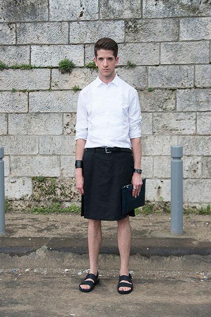 Мужчины снова носят юбки. Почему в этом нет ничего странного