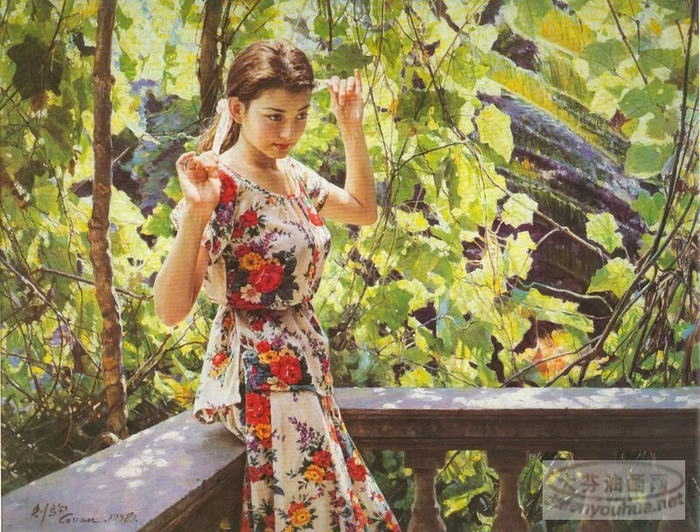 "alt=""Китайский художник Guan zeju (Guan ZeJu (Гуань Цзэцзуй)"""