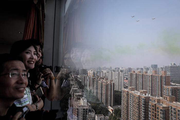 Грандиозный китайский военный парад
