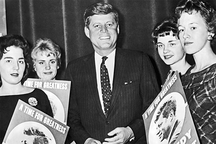 Роскошная жизнь президента США Джона Кеннеди