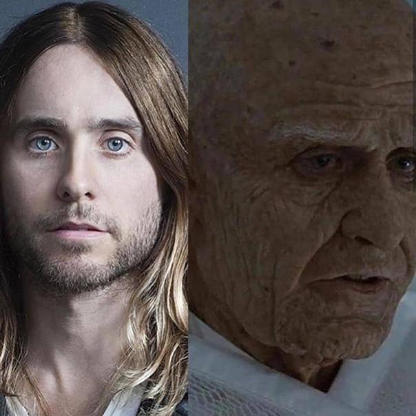 Актеры до и после грима