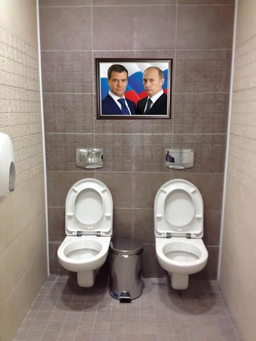 Самые странные ситуации в общественных туалетах