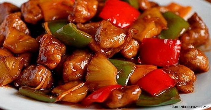 Мясо по-тайски - изумительно нежное и мягкое