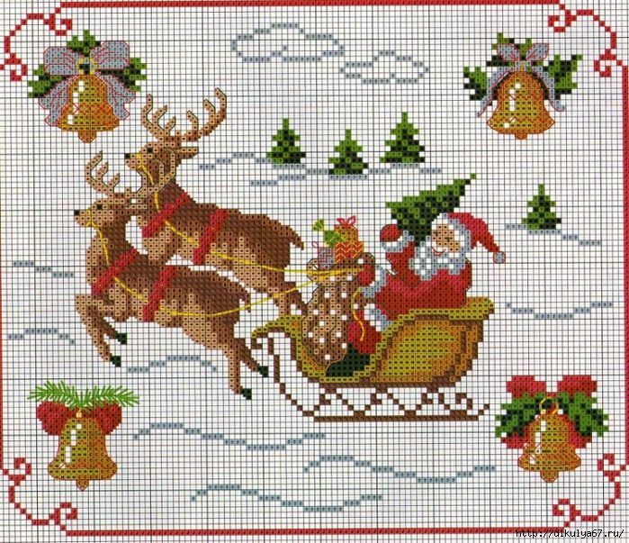6571b9ae0ac2fdf03beb2f4858e6c6bb--christmas-embroidery-cross-stitch-patterns (699x603, 547Kb)