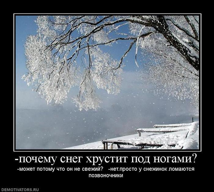 Анекдот Про Снег