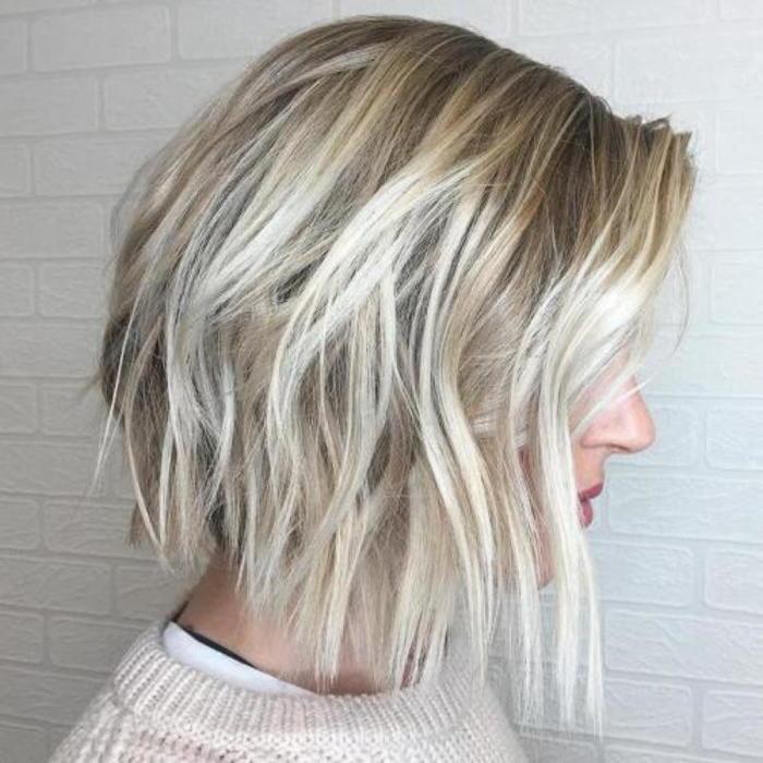 Модные стрижки на тонкие волосы