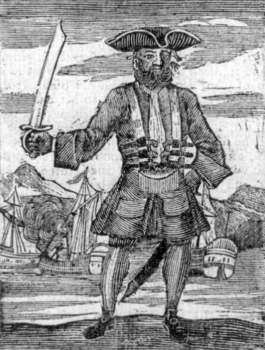 10 самых известных пиратов в истории