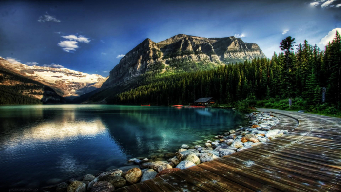 21117-loch-wilderness-national_park-lake_louise-mount_scenery-1366x768 (700x393, 315Kb)