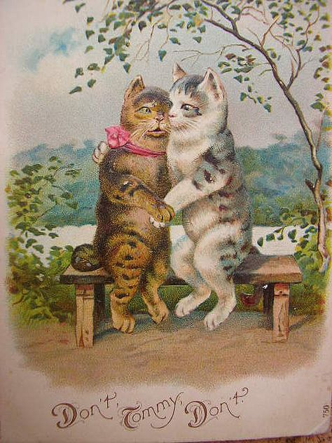 0c7fb0ed3c3ba172609507bb30fb71d6--creepy-cat-vintage-greeting-cards (474x632, 270Kb)