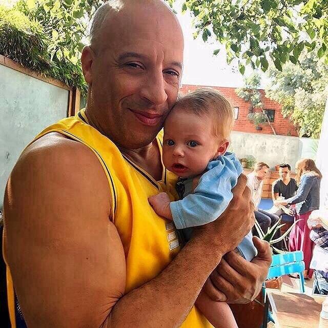 Вин Дизель с племянникoм Пола Уокера