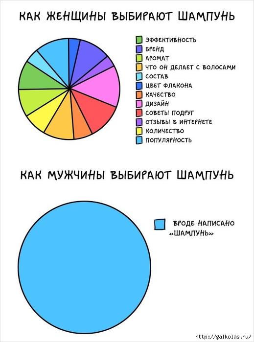 комиксы об отличии женщин и мужчин 8 (519x700, 136Kb)