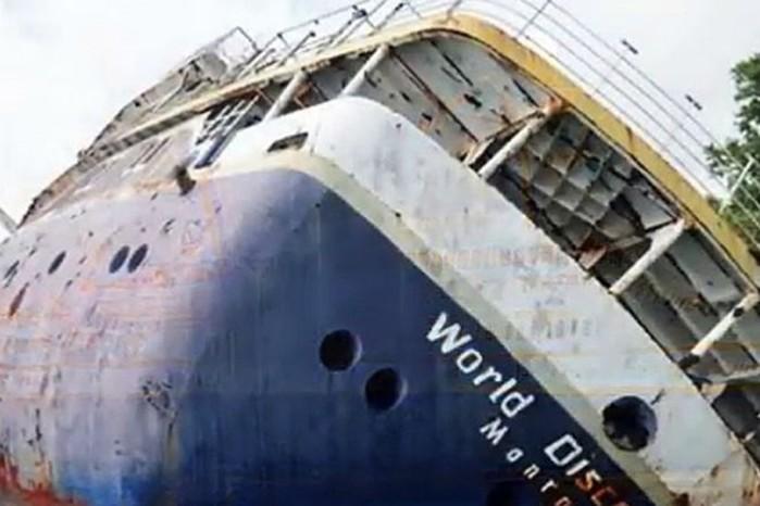 Где можно увидеть 10 затонувших кораблей?