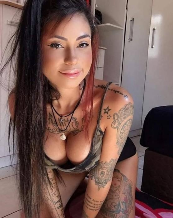 Девушки с татуировками   сексуальные фотографии