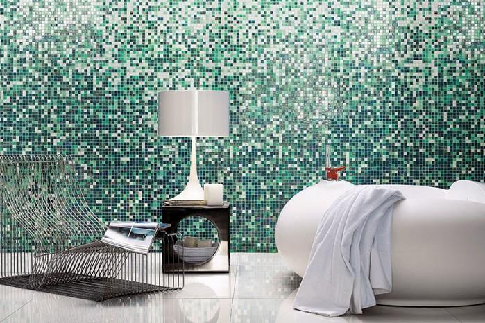 Панно из мозаики – красиво и необычно