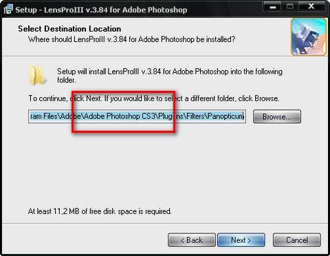 Плагин Photoshop для создания эффекта линзы