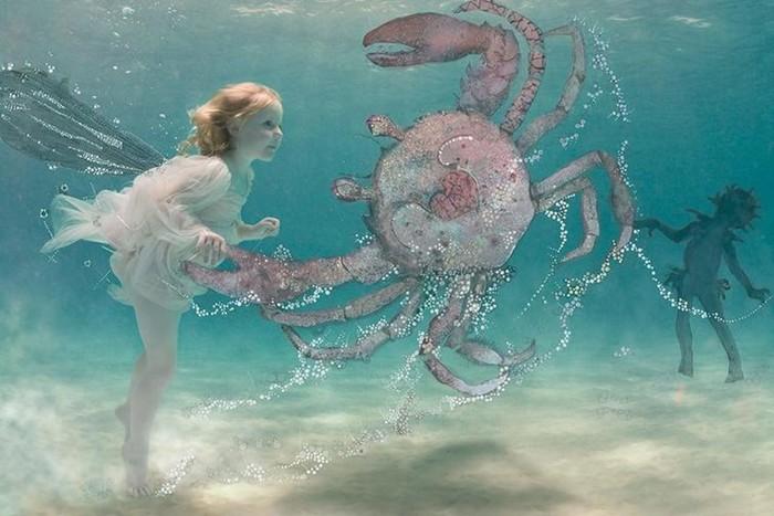 Дети под водой (фото)
