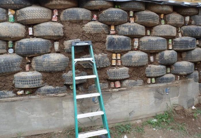 Как можно использовать старые шины дома, на даче и в гараже