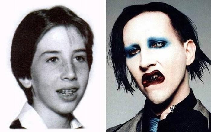 Как выглядели популярные музыканты в юности