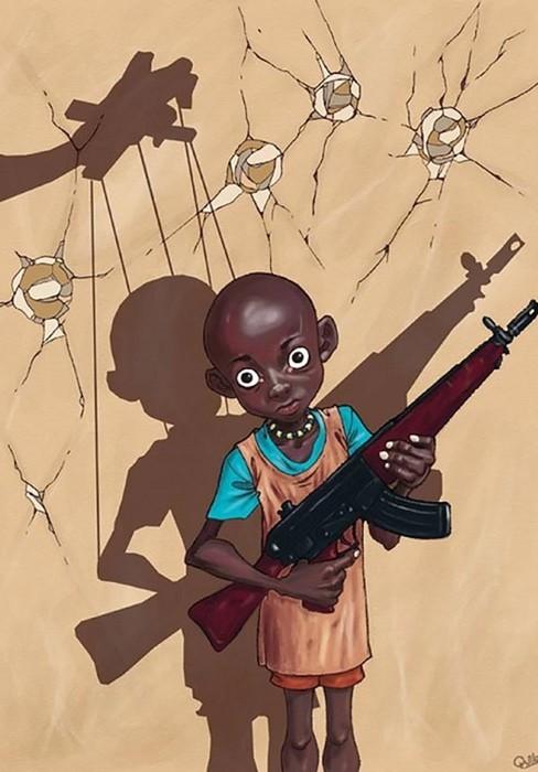 Луис Квилес: карикатуры на современные реалии без цензуры