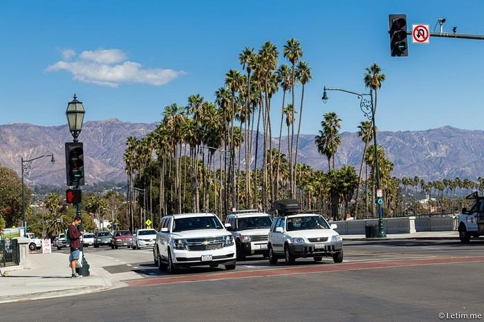 Как выглядит город Санта Барбара в реальности