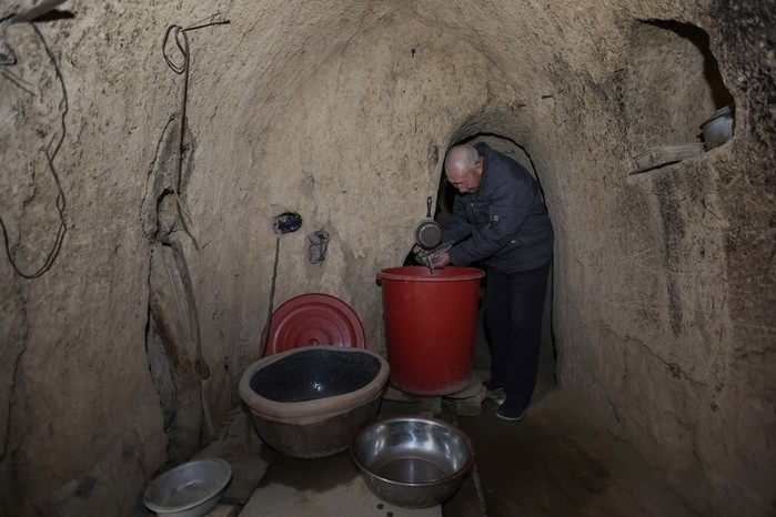 Подземные дома в Китае