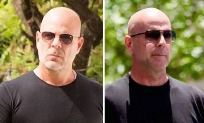 Двойники знаменитостей   сравнение на фотографиях