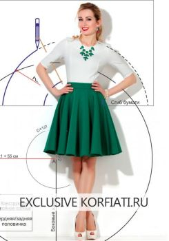 double-circle-skirt-pattern-480x687 (245x350, 49Kb)