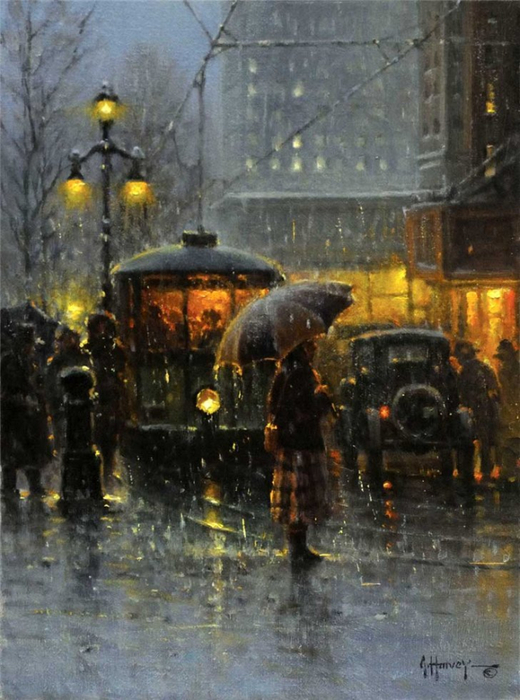 Gerald Harvey Jones 1933 - American Western Art - Tutt'Art@ (29) (520x700, 370Kb)