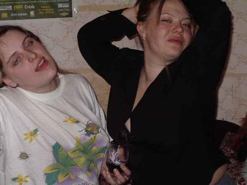 фото баб пьяных