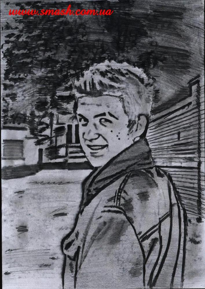 Карандашом максим аверин портрет
