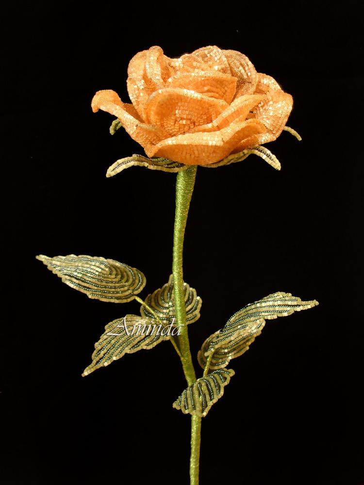 Бокаловидная роза мастер класс 53