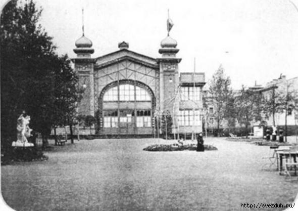 первый кинотеатр в петербурге